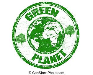כוכב לכת, ביל, ירוק
