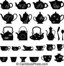כוס של תה, מזרחי, אסייתי, טיון