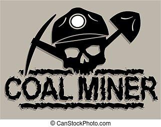 כורה של פחם, גולגולת