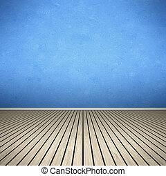 כחול, חדר