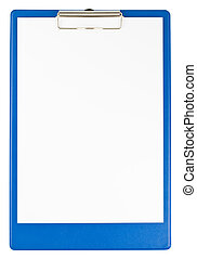 כחול, לוח גזירים, נייר