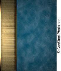 כחול, מבנה, זהב, טקסטורה, פס, רקע