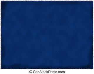 כחול, נייר, השרף