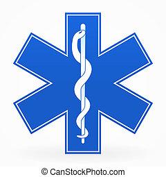 כחול, סימן רפואי
