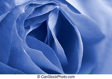 כחול, עלה