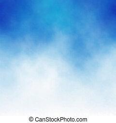 כחול, ענן