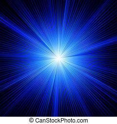 כחול, צבע, הכנסה לכל מניה, burst., עצב, 8