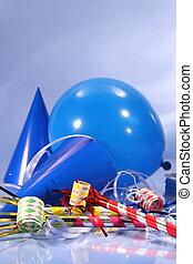 כחול, קישוטים של מפלגה