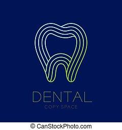 כחול, תאר, פסק, טקסט, של השיניים, הפרד, דוגמה, שן, חושך, מרפאה, לטף, עצב, רקע, לוגו, העתק, איקון