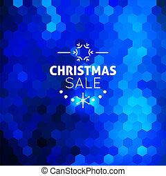 כחול, תקציר, חג המולד, רקע, מכירה