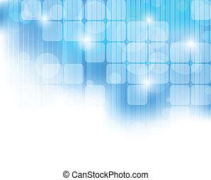 כחול, תקציר, טק, רקע