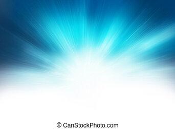 כחול, תקציר, סטארבארסט, רקע