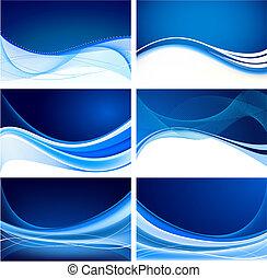 כחול, תקציר, קבע, רקע, וקטור