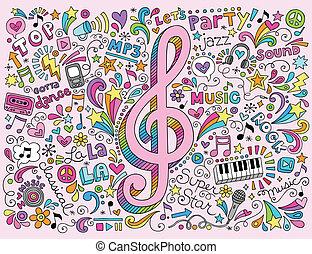 כלאף, מוסיקה, doodles, רואה, אחלה