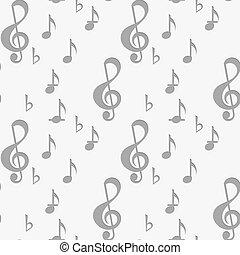 כלאף, נקב, *g*, מוסיקה רואה