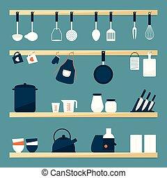 כליים, מטבח