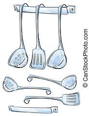 כליים, קבע, מטבח