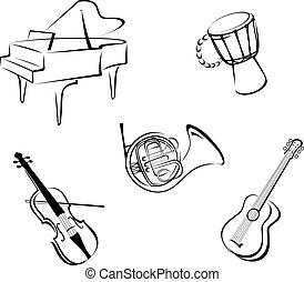 כלים, מוסיקה
