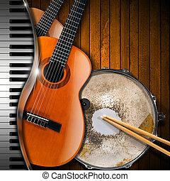 כלים, מוסיקלי, רקע