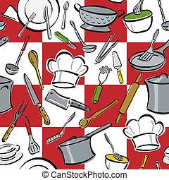 כלים, מטבח, בדוק