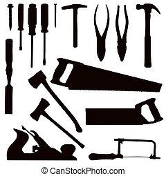 כלים, עבודות עץ