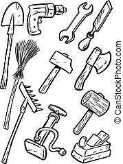 כלים, ציור היתולי