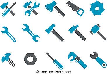 כלים, קבע, איקון