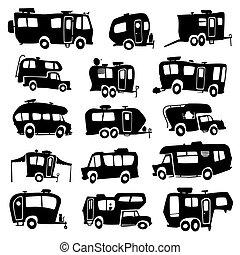 כלי רכב, בידורי, איקונים