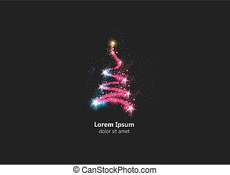 כל, עץ, תקציר, editable, קל, חג המולד