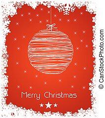 כל, תקציר, editable, קישוט, רקע, קל, חג המולד