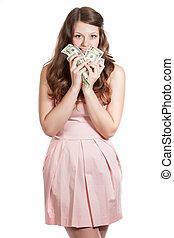 כסף, אישה, צעיר