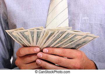 כסף, איש של עסק