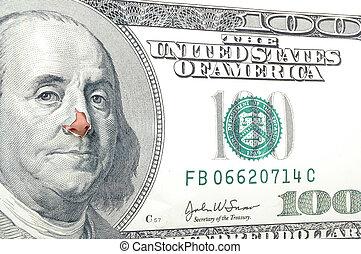 כסף, אף