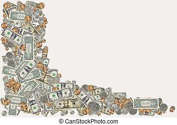 כסף, גבול