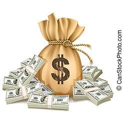 כסף, דולרים, פטר, אורז