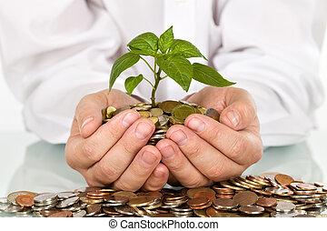 כסף, טוב, מושג, השקעות, לעשות