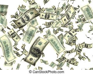 כסף, לבן