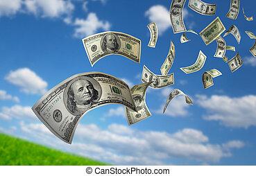 כסף, לפול, חשבונות, $100