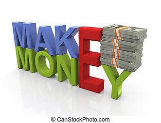 כסף, מושג, לעשות