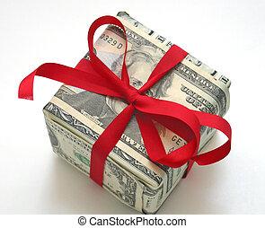 כסף, מתנה