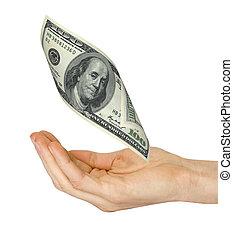כסף, נופל, העבר
