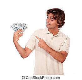 כסף, פדה, מבוגר צעיר, להחזיק, charismatic