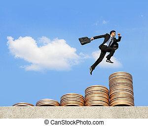 כסף, רוץ, איש של עסק