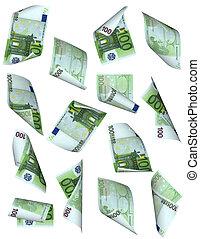 כסף, (euro), נפול