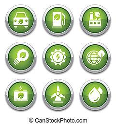 כפתורים, אקולוגיה, ירוק