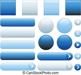 כפתורים כחולים, אינטרנט