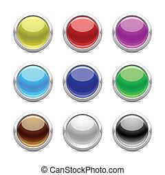 כפתורים, מבריק