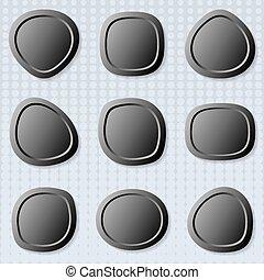 כפתורים, רשת, סיבוב