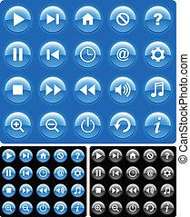 כפתורים, תקשורת