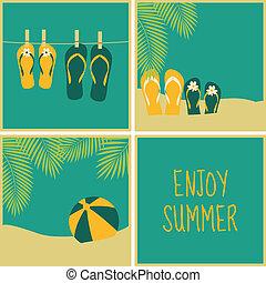 כרטיסים, קיץ, אוסף